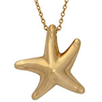 Tiffany-&-Co.-18k-yellow-gold-Elsa-Peretti-starfish-necklace