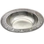 Vintage Tiffany & Company signed sterling silver serving dish